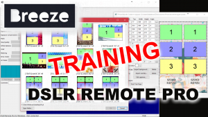 DSLR Remote Pro training
