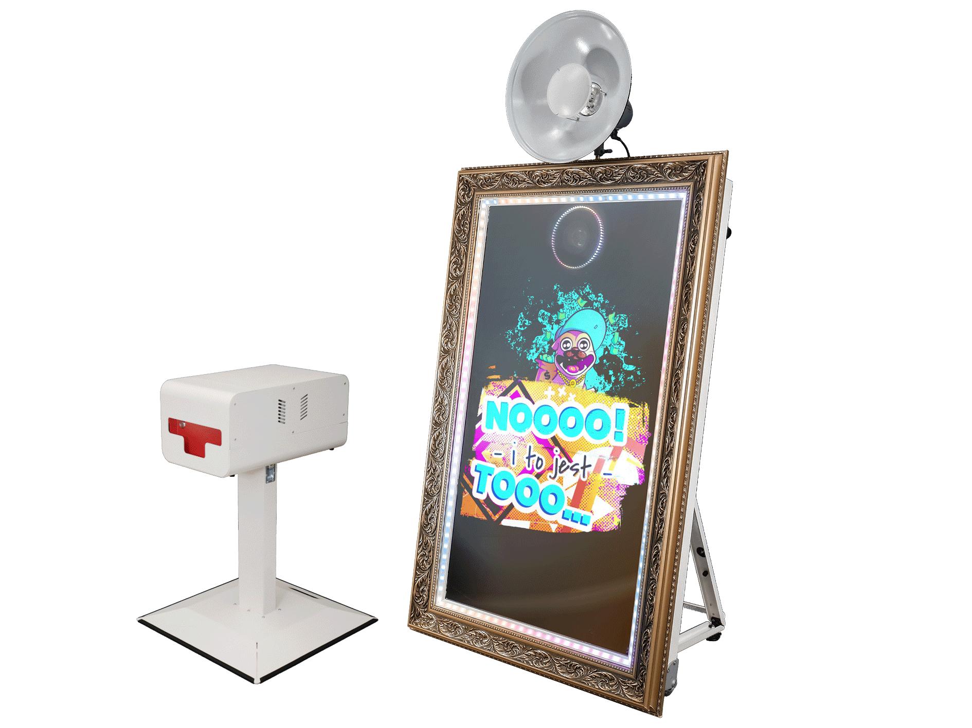 Kompletna fotobudka typu lustro