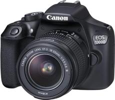 cyfrowa lustrzanka DSLR - Canon EOS 1300D