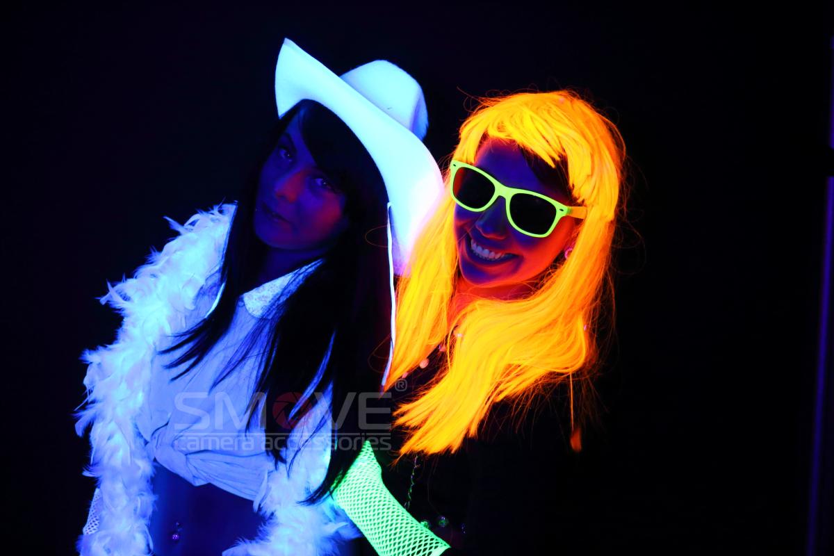 efekt lampy UV