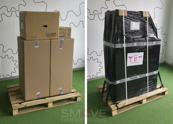 shipment of photobooth